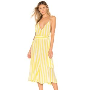 * NEW Lovewave Milly Jumpsuit Yellow & White C67